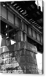 Historical Support Acrylic Print by Kelvin Booker
