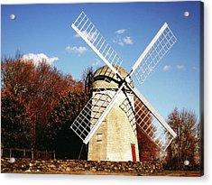 Historical Windmill Acrylic Print by Lourry Legarde