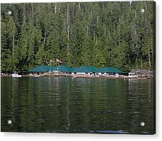 Hoiss Point Lodge #2 Acrylic Print by Nootka Sound