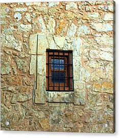 Hole In The Wall Acrylic Print by James Granberry