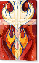 Holy Spirit Acrylic Print by Mark Jennings