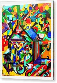 Home Acrylic Print by Debbie Hall