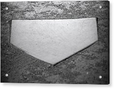 Home Plate Acrylic Print by Shawn Wood