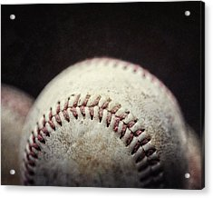 Home Run Ball Acrylic Print by Lisa Russo