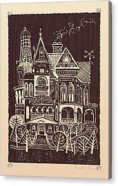 Home Sweet Home Acrylic Print by Ernestine Grindal