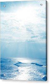 Hookipa Beach Blue Sensation Acrylic Print by Sharon Mau