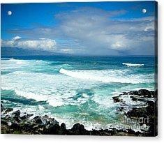 Hookipa Beach Maui Acrylic Print by Kelly Wade