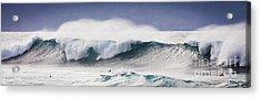Hookipa Maui Big Wave Acrylic Print by Denis Dore