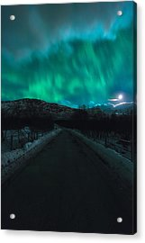 Hope In Light Acrylic Print by Tor-Ivar Naess