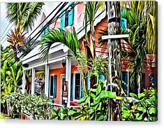 Hope Town Home Acrylic Print by Anthony C Chen