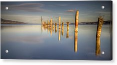 Horizon Acrylic Print by Philippe Saire - Photography