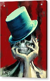 Horror Freak Acrylic Print by Melanie D
