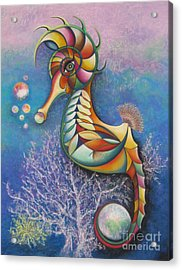 Horse Of A Different Color Acrylic Print by Tracey Levine