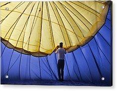 Hot Air Balloon - 11 Acrylic Print by Randy Muir