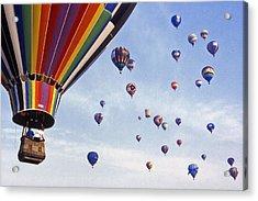 Hot Air Balloon - 12 Acrylic Print by Randy Muir