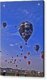 Hot Air Balloon - 14 Acrylic Print by Randy Muir