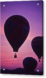 Hot Air Balloon - 8 Acrylic Print by Randy Muir