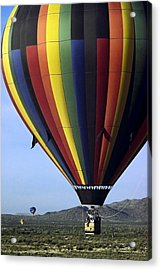 Hot Air Balloon  Acrylic Print by Sally Weigand