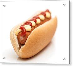 Hot Dog Acrylic Print by Amanda Elwell