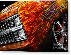 Hot Rod Chevrolet Scotsdale 1978 Acrylic Print by Oleksiy Maksymenko