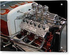 Hot Rod Lincoln Acrylic Print by Bill Dutting