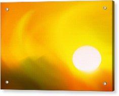 Hot Summer Sun 2 Acrylic Print by Steve Ohlsen