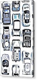 Hot Wheels Phone Case Acrylic Print by Edward Fielding