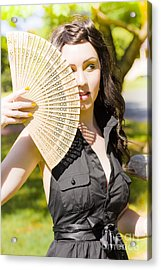 Hot Woman Acrylic Print by Jorgo Photography - Wall Art Gallery