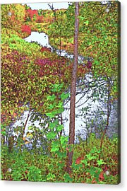 Housatonic River 2 - New England Acrylic Print by Steve Ohlsen
