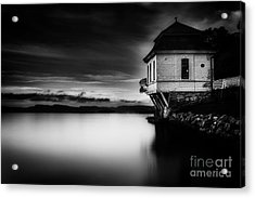 House By The Sea Acrylic Print by Erik Brede