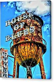 House Of Blues Orlando Acrylic Print by Corky Willis Atlanta Photography