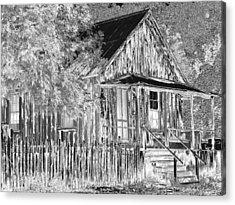 House On The Hill Acrylic Print by Athala Carole Bruckner