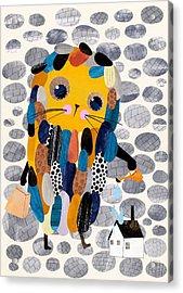 Housekeeper Acrylic Print by Anne Vasko