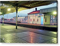 Hove Station Acrylic Print by Nigel Chaloner