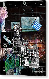 How Not To Make Art Part 4  Acrylic Print by Andy  Mercer