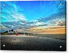 Howard Park Beach Acrylic Print by Marvin Spates