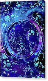 Hubble 3014 Acrylic Print by Susan Maxwell Schmidt