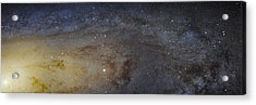 Hubble's High-definition Panoramic View Of The Andromeda Galaxy Acrylic Print by Adam Romanowicz
