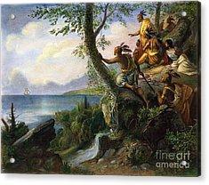 Hudson: New York, 1609 Acrylic Print by Granger
