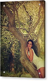 Humanize Acrylic Print by Laurie Search