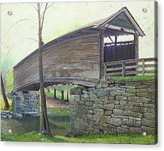 Humpback Bridge Acrylic Print by J Luis Lozano