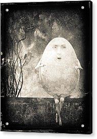 Humpty Dumpty Acrylic Print by Bob Orsillo