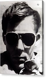 Hunter S. Thompson, 1960s Acrylic Print by Everett