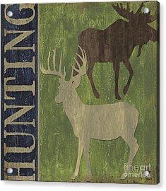 Hunting Acrylic Print by Debbie DeWitt