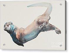 Hunting In The Deep Acrylic Print by Mark Adlington