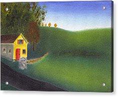 Hurlock Hills Acrylic Print by Tim Webster