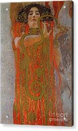 Hygieia Acrylic Print by Gustav Klimt