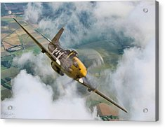 I Am Legend P-51 Acrylic Print by Peter Chilelli