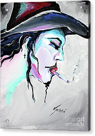 I Am What I Am  Acrylic Print by Valentina Miletic