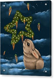 I Can Smell The Christmas In The Air Acrylic Print by Veronica Minozzi